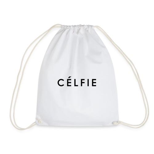 Celfie Drawstring Bag - Drawstring Bag