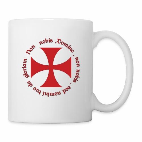 Mug Officiel Croix Ordre du Temple - Mug blanc