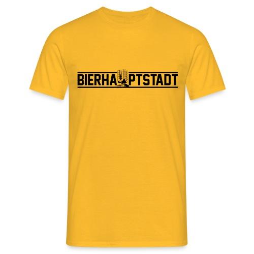 BIERHAUPTSTADT SHIRT 1.0  - Männer T-Shirt