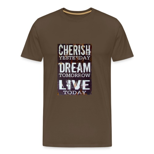 Cherisch dream life - Mannen Premium T-shirt