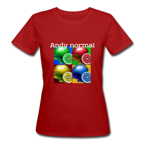 Andy normal - Vrouwen Bio-T-shirt
