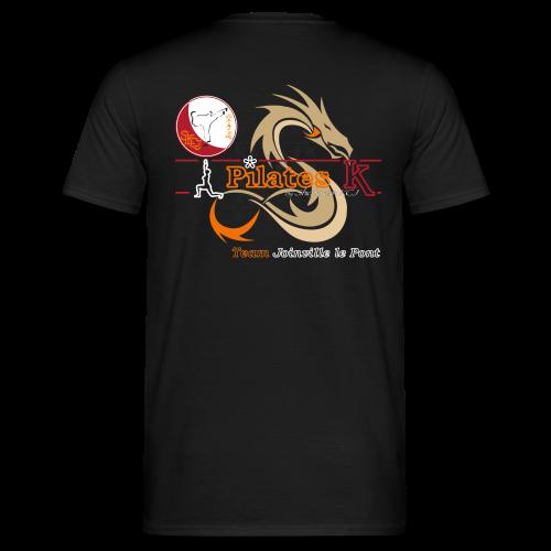 T-Shirt Pilates K Noir - Homme - T-shirt Homme