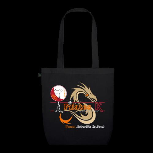 Tote Bag Pilates K Noir - Sac en tissu biologique