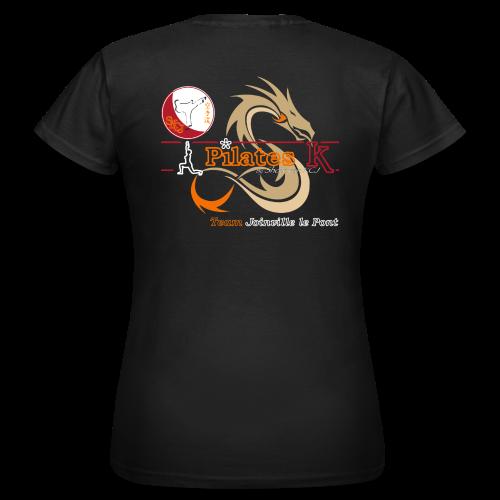 T-Shirt Pilates K Noir - Femme - T-shirt Femme