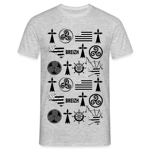 Breizh - Bretagne - T-shirt Homme