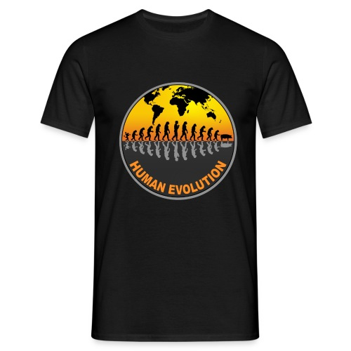 HUMAN EVOLUTION - T-shirt Homme