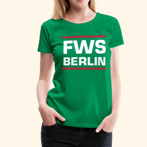 FWSBerlin Lady 2018 - Frauen Premium T-Shirt