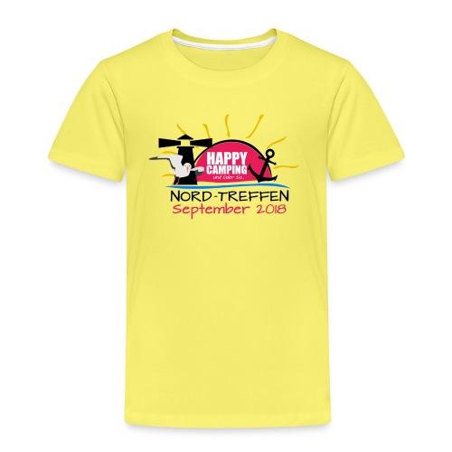 Happy Camping - Nord Treffen 2018 - KIDS Shirt - Kinder Premium T-Shirt