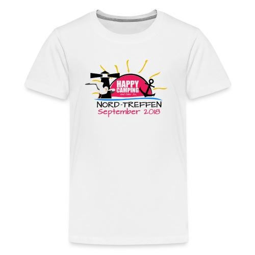 Happy Camping - Nord Treffen 2018 - TEEN Shirt - Teenager Premium T-Shirt