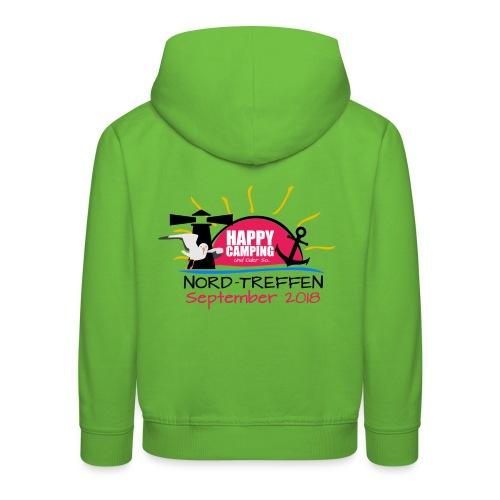 Happy Camping - Nord Treffen 2018 - KIDS Hoodie - Kinder Premium Hoodie