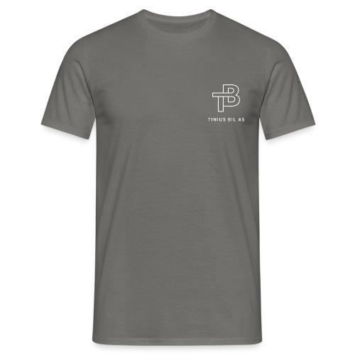 Tinius bil - T-skjorte for menn