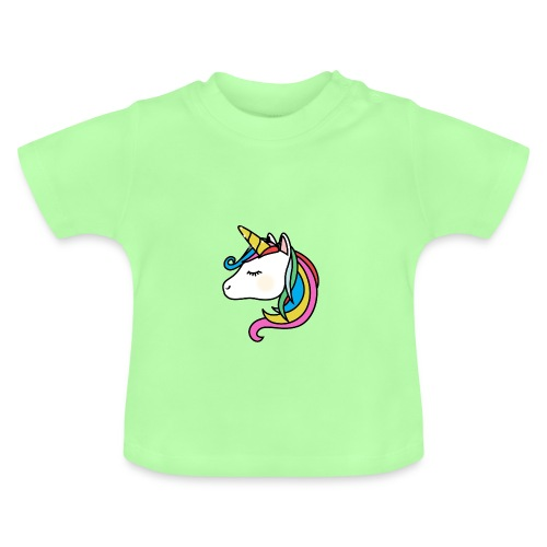 T SHIRT BEBE LICORNE - T-shirt Bébé