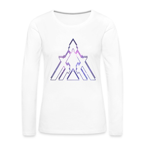 Womens Long Sleeve Galactic Tee - Women's Premium Longsleeve Shirt