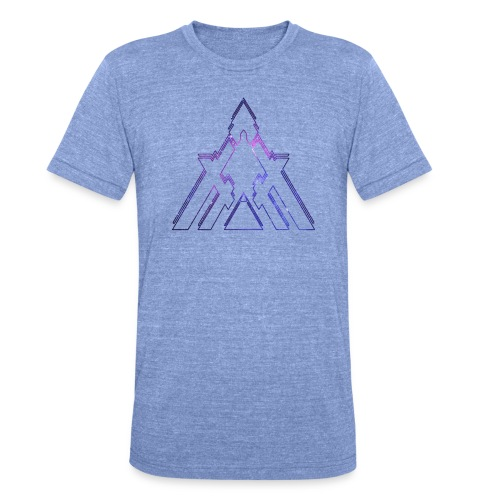 Unisex Galactic Tee - Unisex Tri-Blend T-Shirt by Bella & Canvas