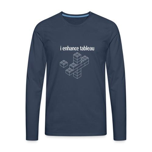 Men's Long Sleeve - i enhance tableau - Men's Premium Longsleeve Shirt