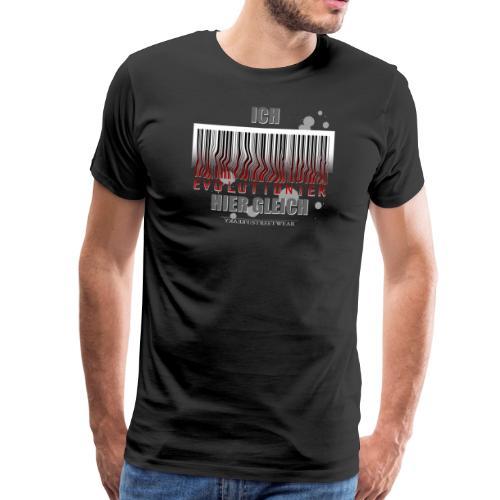 Ich evolutioniere - Männer Premium T-Shirt
