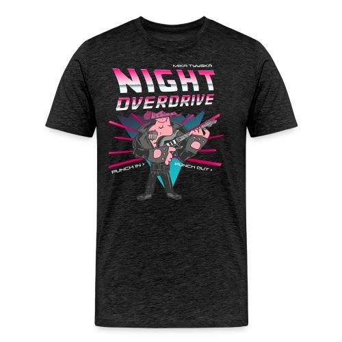 Tyyskä Night Overdrive - Premium T-shirt - Men's Premium T-Shirt