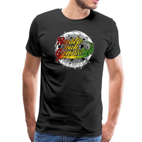 Rasta nuh Gangsta - Männer Premium T-Shirt