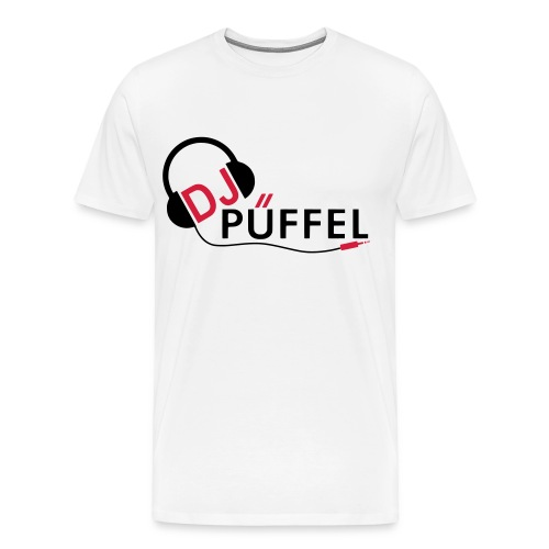 Männer Shirt DJ Püffel - Männer Premium T-Shirt