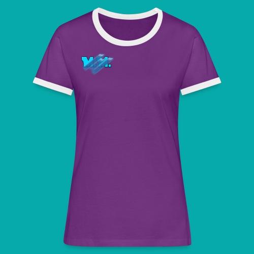 Vrouwen contrastshirt