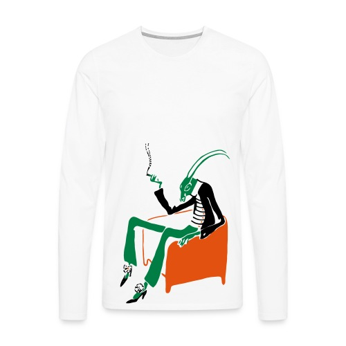 Smoking Cricket - Men's Premium Longsleeve Shirt