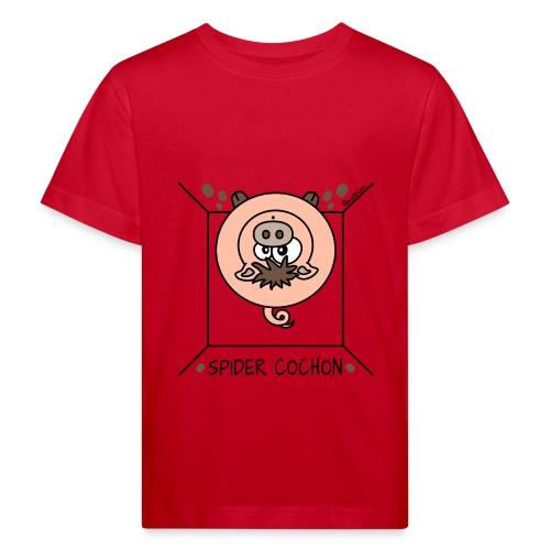 T-shirt Bio Enfant, Spider Cochon, Homer - T-shirt bio Enfant