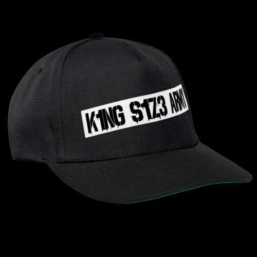 K1NG S1Z3 ARMY Cap - Snapback Cap