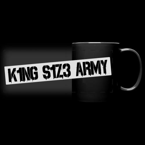 K1NG S1Z3 ARMY Tasse - Panoramatasse farbig