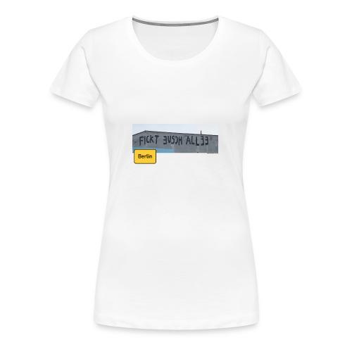 Street Art Berlin 2018 - Frauen Premium T-Shirt