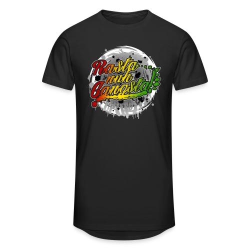 Rasta nuh Gangsta - Männer Urban Longshirt