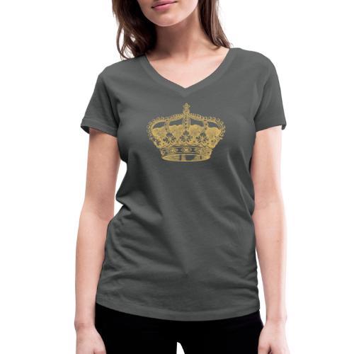 Prinzessin - Frauen Bio-T-Shirt mit V-Ausschnitt von Stanley & Stella