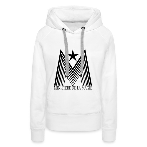 Ministère de la Magie - Sweat-shirt à capuche Premium pour femmes