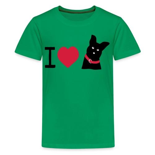 I love Dogs - Teenager Premium T-Shirt