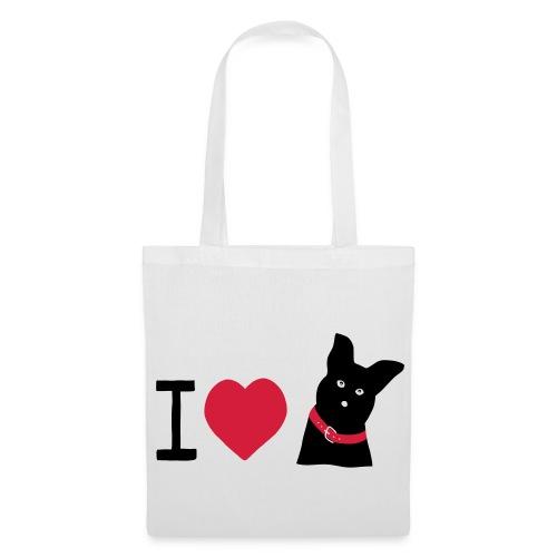 I love Dogs - Stoffbeutel