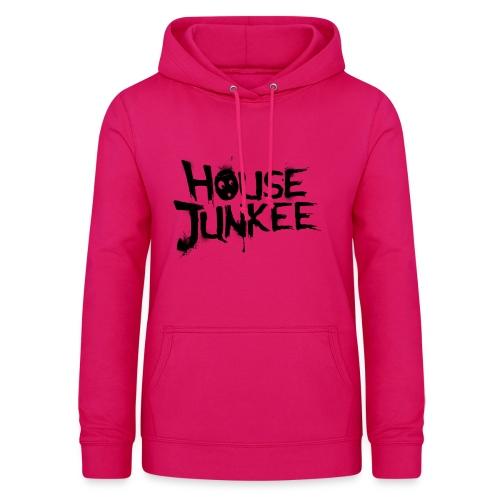 Pink black  - Frauen Hoodie