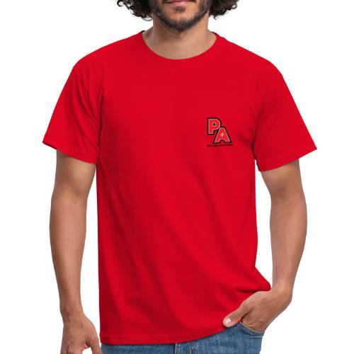 Men's Power Logo T-shirt (Red) - Men's T-Shirt