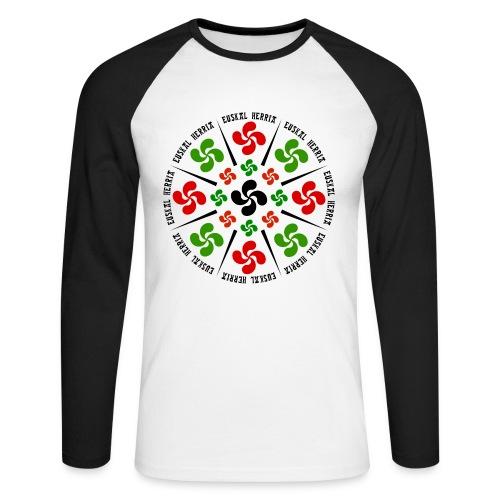 Croix Basques - T-shirt baseball manches longues Homme