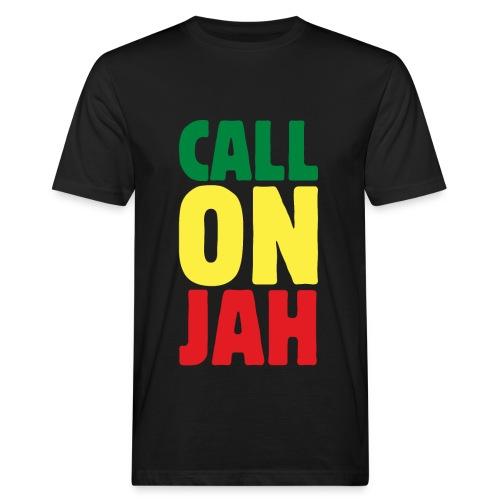 Call on Jah - Jah Rastafari - Reggae Roots T-Shirt - Männer Bio-T-Shirt