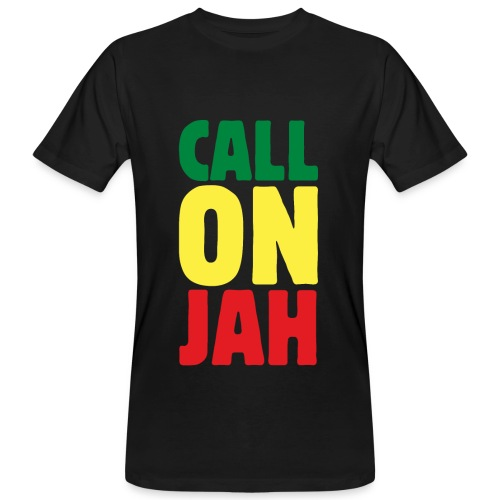 Call on Jah - Jah Rastafari - Reggae Roots T-Shirt - Männer Bio-T-Shirt