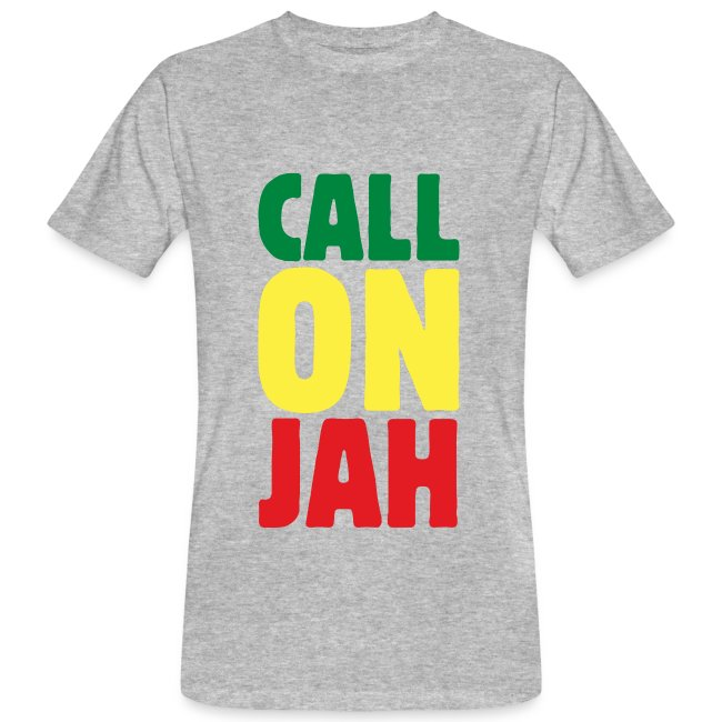 Call on Jah - Jah Rastafari - Reggae Roots T-Shirt