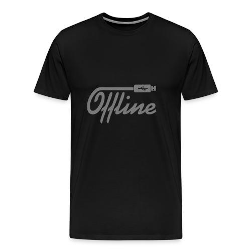Offline II - Männer Premium T-Shirt