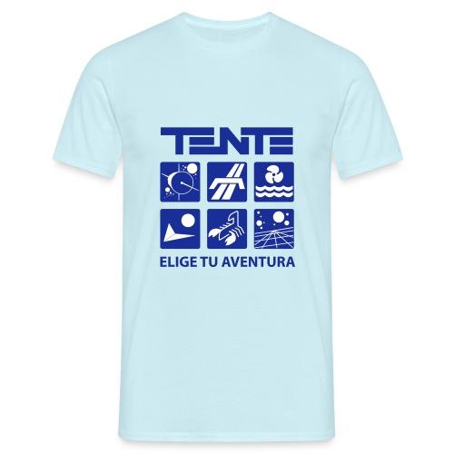 Camiseta hombre series TENTE (Azul) - Camiseta hombre