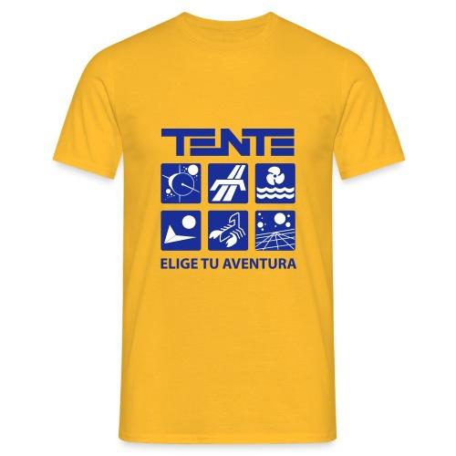 Camiseta hombre series TENTE (Amarillo) - Camiseta hombre