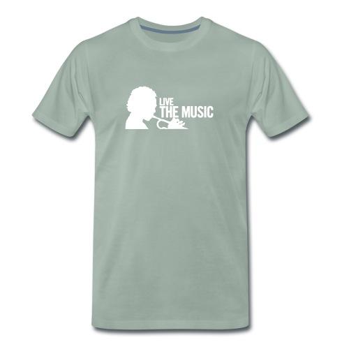 Live the Music - Herren Shirt - Männer Premium T-Shirt