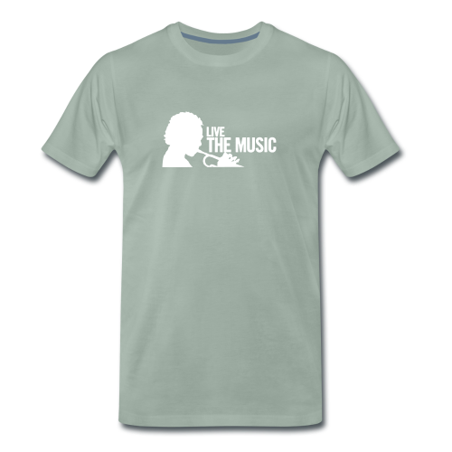 LIve the Music - Männer Premium T-Shirt