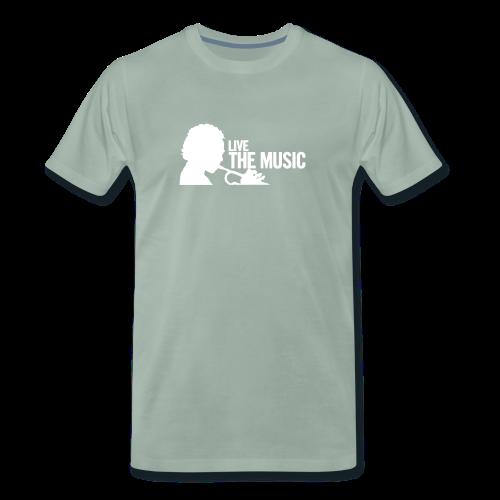 LIve the Music - Männer Premium T-Shirt