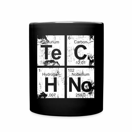 Techno Broken Elements - Tasse - Tasse einfarbig