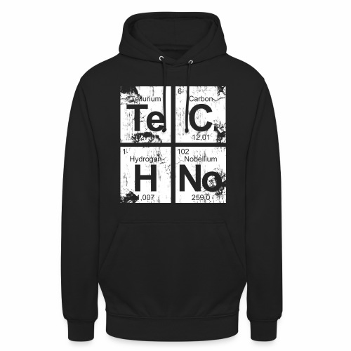 Techno Broken Elements - Hoodie - Unisex Hoodie