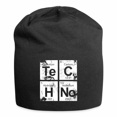 Techno Broken Elements - Beanie - Jersey-Beanie