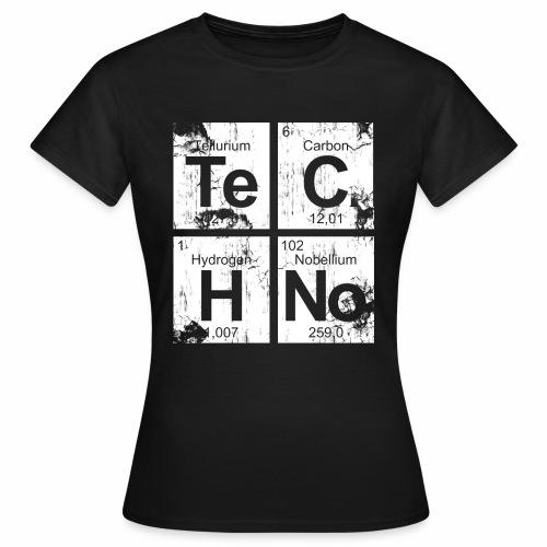 Techno Broken Elements - T-Shirt - Frauen T-Shirt